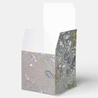 Piedra y agua cajas para regalos de boda