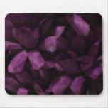 Piedra y flores de Shell Alfombrilla De Ratones