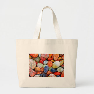 Piedra y guijarro bolsa tela grande