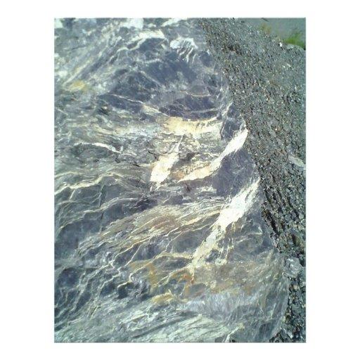 Piedra y roca tarjetón