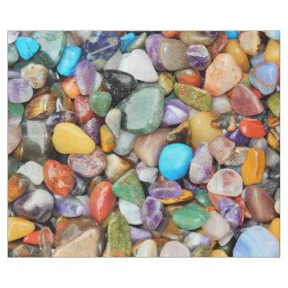 Piedras coloridas, guijarros, rocas papel de regalo