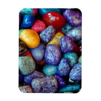 Piedras coloridas iman