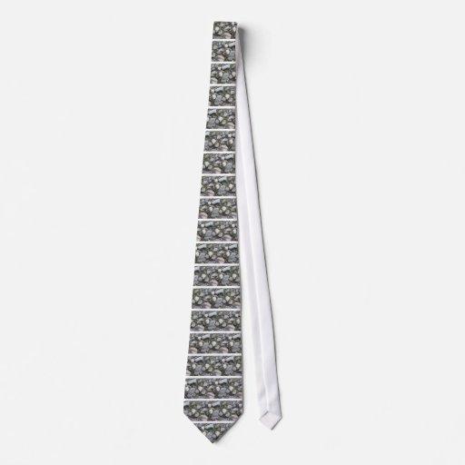 piedras de fondo corbata personalizada