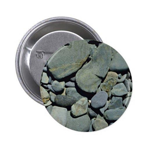 Piedras de la roca del guijarro pin redondo 5 cm