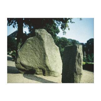 Piedras de la runa de Viking Impresiones De Lienzo