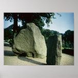 Piedras de la runa de Viking Poster