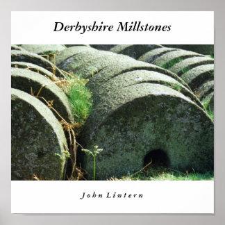 Piedras de molino de Derbyshire, J o h… Póster