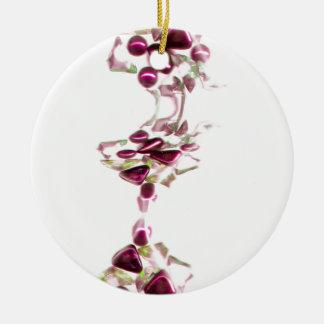 piedras decorativas adorno redondo de cerámica