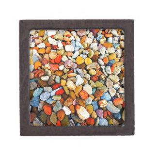 Piedras del césped cajas de recuerdo de calidad