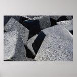 Piedras del dique en la costa de Los Cristianos, T Impresiones
