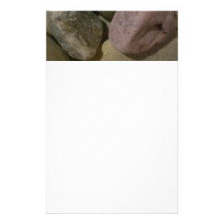 Piedras del mar papeleria personalizada