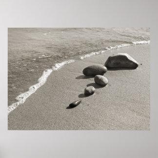 Piedras del mar - poster