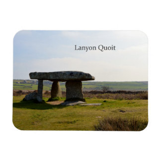 Piedras derechas Cornualles Inglaterra del Quoit Imán Foto Rectangular