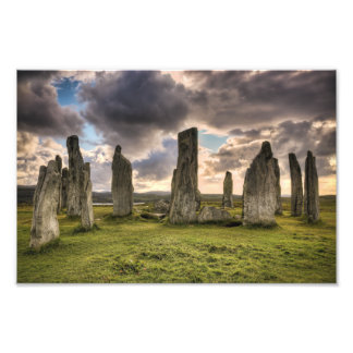 Piedras derechas de Callanish Fotografías