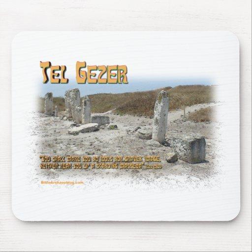 Piedras derechas del teléfono Gezer Tapete De Raton