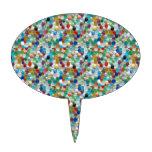 Piedras naturales coloridas de PEARLE: GOCE DE CAD Palillos De Tarta