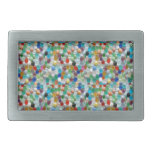 Piedras naturales coloridas de PEARLE: GOCE DE CAD Hebilla De Cinturon