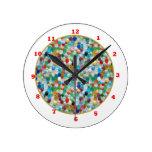 Piedras naturales coloridas de PEARLE: GOCE DE CAD Reloj