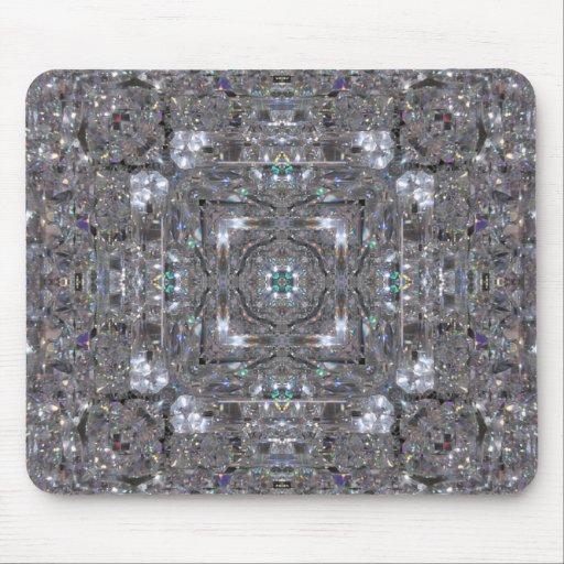 Piedras preciosas - diamantes - cojín de ratón de  alfombrillas de raton