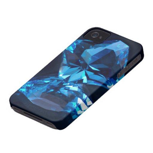 Piedras preciosas iPhone 4 Case-Mate coberturas