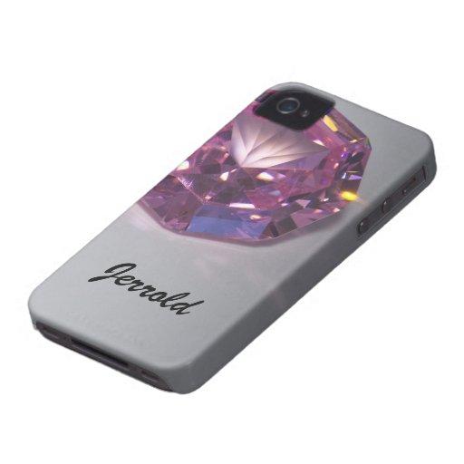 Piedras preciosas iPhone 4 protectores