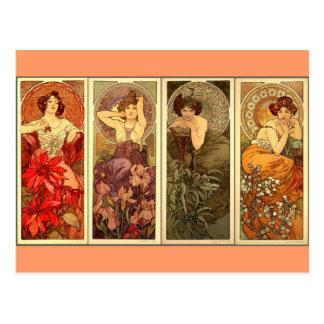 Piedras preciosas - nouveau del arte postal