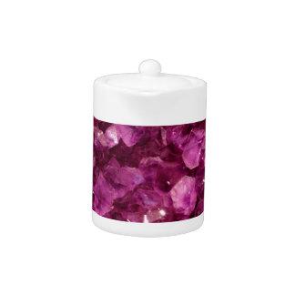 Piedras preciosas púrpuras Amethyst del cristal de