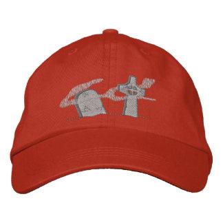 Piedras sepulcrales gorra bordada