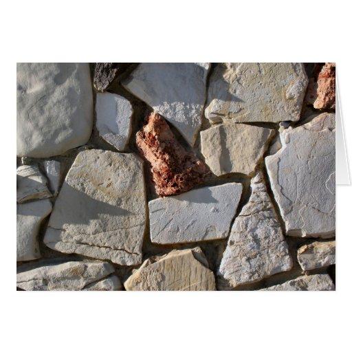 piedras tarjeta