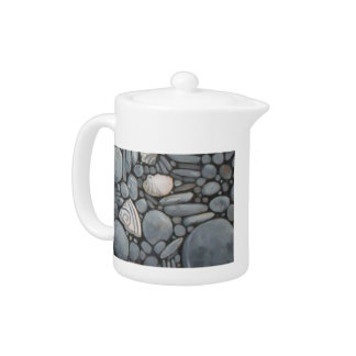 Piedras y cáscaras de la playa