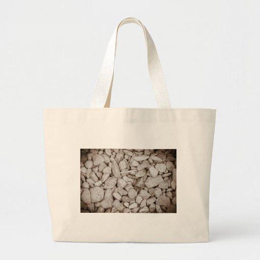 Piedras y madera bolsas