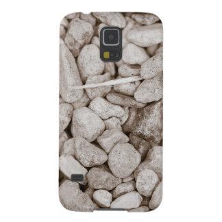 Piedras y madera carcasa galaxy s5