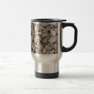 Piedras y madera tazas de café