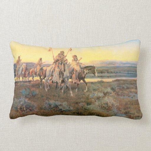 Piegans - American MoJo Pillow