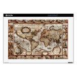 Piel 1499 del dispositivo del mapa de Viejo Mundo Calcomanía Para 43,2cm Portátil
