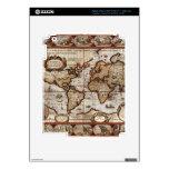 Piel 1499 del dispositivo del mapa de Viejo Mundo Pegatinas Skins Para iPad 3
