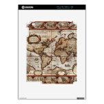 Piel 1499 del dispositivo del mapa de Viejo Mundo iPad 2 Skin