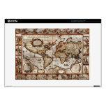 Piel 1499 del dispositivo del mapa de Viejo Mundo Portátil Skin