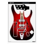 Piel #2A del viaje del mundo del héroe de la guita Guitar Hero Calcomanías