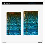 Piel abstracta azul para el fuego Kindle Kindle Fire Pegatinas Skins