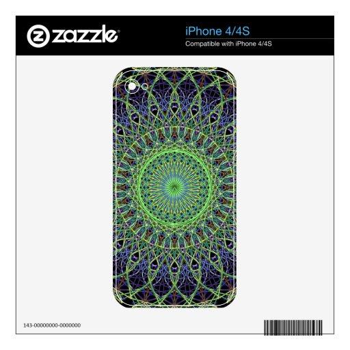 Piel abstracta de Zazzle para IPhone 4/4S Calcomanía Para iPhone 4