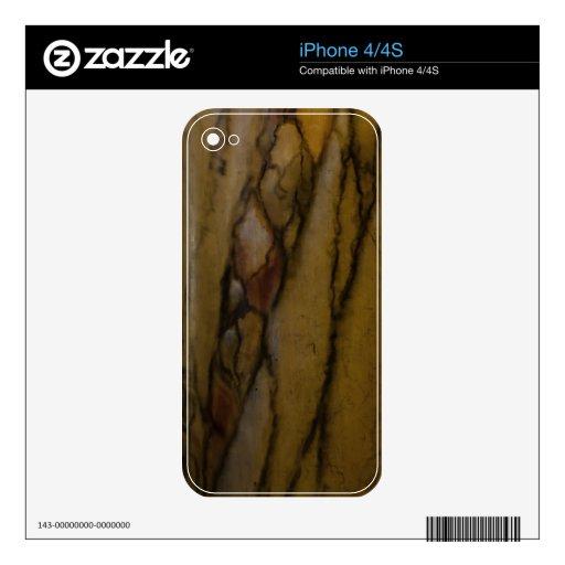 Piel abstracta del iPhone 4/4S de los marbls Skin Para El iPhone 4