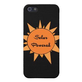 Piel accionada solar de la célula de la mota del c iPhone 5 coberturas