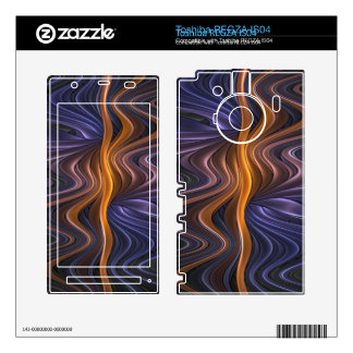Piel adriática de Toshiba Zazzle Calcomanías Para Toshiba REGZA