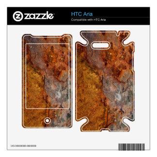 Piel aherrumbrada de la aria de HTC Skin Para El HTC Aria