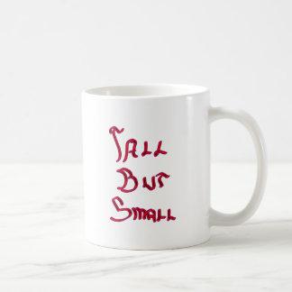 Piel alta pero pequeña de la edición del resplando tazas de café
