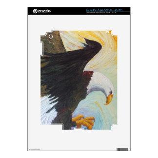 Piel americana del iPad de Eagle calvo iPad 3 Pegatinas Skins
