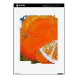 Piel anaranjada del iPad de la fruta iPad 3 Skins