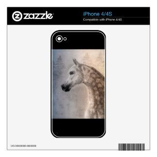 Piel árabe del iPhone 4 del caballo Calcomanías Para El iPhone 4S