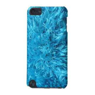 Piel azul borrosa funda para iPod touch 5G